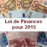 Projet de Loi de Finances pour 2015 : Jean-Noël Carpentier dépose des amendements.