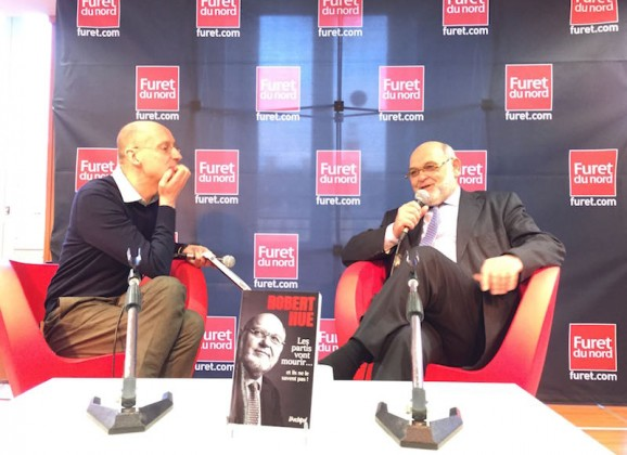 Rencontre avec Robert Hue à Lille