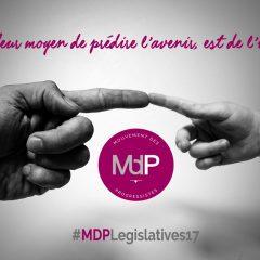 Législatives 2017 : Rejoignez les candidates et candidats de la vraie vie !