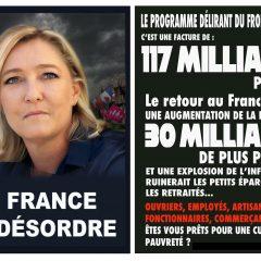 10 bonnes raisons de ne pas voter Marine Le Pen