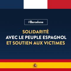 Attentat de Barcelone – tristes et horrifiés mais debouts face au terrorisme !
