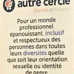 Le MdP présent avec l'Autre Cercle dans la lutte contre les discriminations LGBTI au sein de l'entreprise