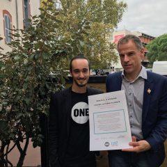 Sébastien NADOT, député et porte-parole du MdP, s'engage à lutter contre l'extrême pauvreté
