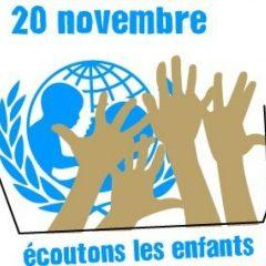 Journée internationale des droits de l'enfant : Ecoutons les enfants !