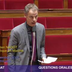 Sébastien NADOT interroge la ministre des sports sur l'organisation de la semaine olympique et paralympique