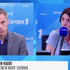 Sébastien NADOT sur EUROPE 1 – L'Aquarius finalement accueilli en Espagne : «La France vaut mieux que ça, l'Europe vaut mieux que ça»