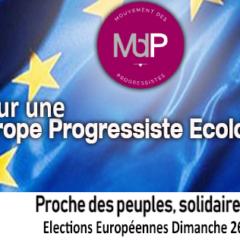 Européennes 2019 – Le MdP s'engage pour une Europe progressiste et écologiste, une Europe solidaire et sociale !