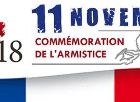 Commémorations du 11 novembre 1918 : Pour que la paix s'installe demain partout dans le monde