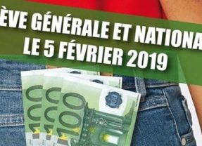 Journée de grève générale du 5 février 2019
