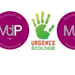 """EUROPÉENNES 2019 – Le Mouvement des Progressistes (MDP) rejoint la liste """"Urgence Écologie"""" conduite par Dominique BOURG"""
