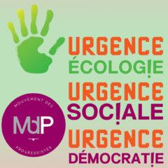 Construisons ensemble l'alternative écolo, démocratique, solidaire et sociale de demain !