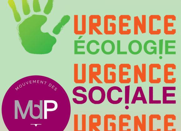 Rencontre nationale du Mouvement des Progressistes – Samedi 19 septembre