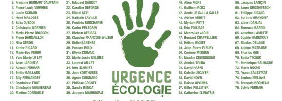 Imprimez votre bulletin de vote Urgence Ecologie !