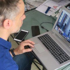 Crise COVID 19 : Sébastien NADOT en Visio-conférence avec Matignon pour représenter le MdP