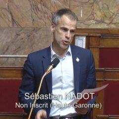 COVID 19 – Sébastien NADOT demande un vrai débat démocratique !