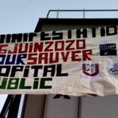 16 Juin – Rassemblons-nous en soutien à l'hôpital public et aux personnels hospitaliers !