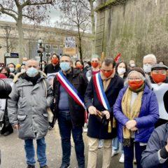 Le Mdp dans le rassemblement de soutien aux victimes de l'agent orange !