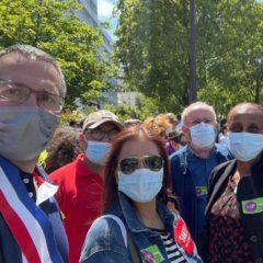 Le Mouvement des Progressistes dans la mobilisation pour l'hôpital public et l'égal accès aux soins pour toutes et tous !