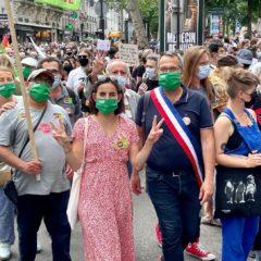 150 000 personnes marchent partout en France pour les libertés et contre les idées de l'extrême-droite !