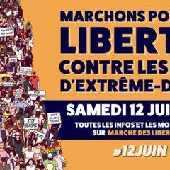 Le Mouvement des Progressistes appelle à participer à la Marche des libertés organisée le Samedi 12 juin !