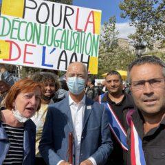 Mobilisation nationale pour la déconjugalisation de l'AAH, l'autonomie et la dignité des personnes en situation de handicap